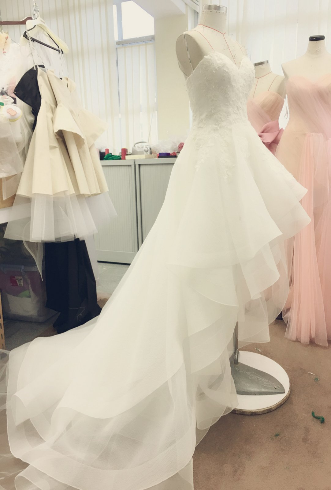林心如婚照part 1 - Cocoonbridal - gown work in progress